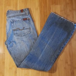 EUC 7 for all mankind Flare Jeans